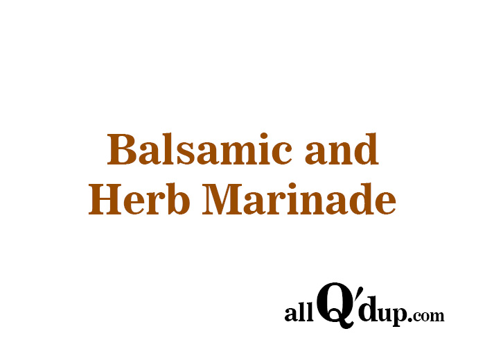All-Purpose Herb Marinade Recipes — Dishmaps