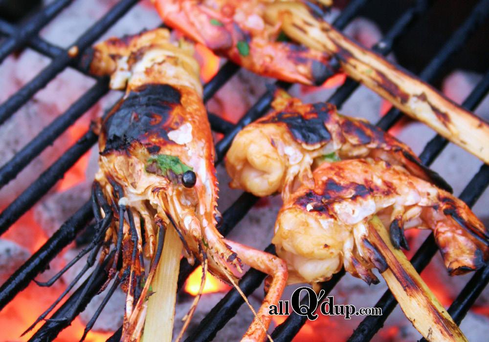Shrimp on the BBQ