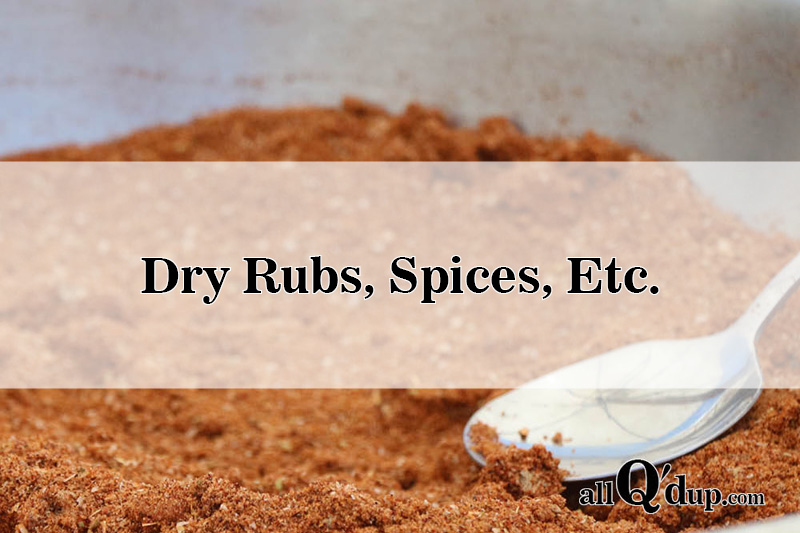 Sweet and Spicy Pork Rub